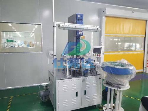 粉扑自动化焊接设备